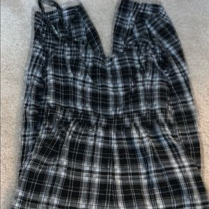 Plaid Romper from Hollister